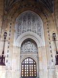 χτίζοντας μεσαιωνική θρησκευτική παραδοσιακή λατρεία της Αγγλίας χριστιανικών εκκλησιών Στοκ φωτογραφίες με δικαίωμα ελεύθερης χρήσης