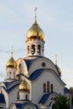 Χτίζοντας ναός εκκλησιών Στοκ Φωτογραφία