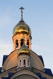 Χτίζοντας ναός εκκλησιών Στοκ εικόνες με δικαίωμα ελεύθερης χρήσης