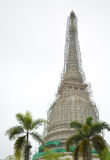 χτίζοντας ναός της Καμπότζης pehn pnom Στοκ Εικόνα