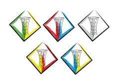 Χτίζοντας λογότυπο Στοκ εικόνα με δικαίωμα ελεύθερης χρήσης