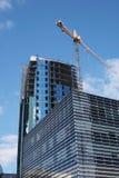 χτίζοντας ουρανοξύστες Στοκ εικόνα με δικαίωμα ελεύθερης χρήσης