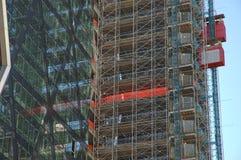 χτίζοντας ουρανοξύστης Στοκ Φωτογραφία