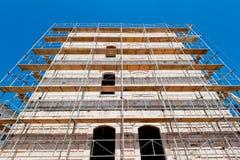 χτίζοντας παλαιά αναδημι&omic Στοκ εικόνα με δικαίωμα ελεύθερης χρήσης