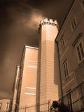 χτίζοντας παλαιός πύργος Στοκ εικόνες με δικαίωμα ελεύθερης χρήσης