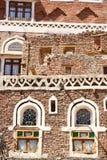 χτίζοντας παλαιός yemeni Στοκ Εικόνα
