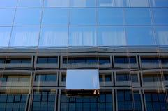 χτίζοντας παράθυρο γυαλ Στοκ Εικόνα