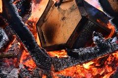 Χτίζοντας περίληψη πυρκαγιάς στοκ εικόνα με δικαίωμα ελεύθερης χρήσης