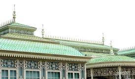 Χτίζοντας πράσινη στέγη ` s Στοκ Εικόνες