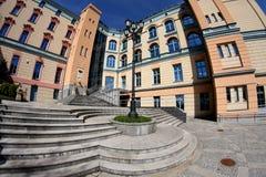 χτίζοντας πρόσοψη Στοκ Φωτογραφία