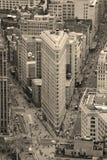 χτίζοντας πόλη flatiron Μανχάτταν Νέ&al Στοκ φωτογραφία με δικαίωμα ελεύθερης χρήσης