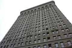 χτίζοντας πόλη flatiron Νέα Υόρκη στοκ εικόνες
