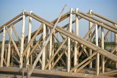 χτίζοντας σπίτια Στοκ Εικόνα