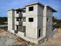 χτίζοντας σπίτι Στοκ Φωτογραφίες