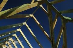 χτίζοντας σπίτι Στοκ φωτογραφία με δικαίωμα ελεύθερης χρήσης