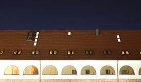 χτίζοντας στέγη Στοκ Φωτογραφίες