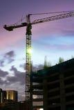 χτίζοντας συγκεκριμένη υψηλή άνοδος κατασκευής Στοκ φωτογραφίες με δικαίωμα ελεύθερης χρήσης