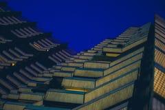 χτίζοντας συρμένο απομονωμένο χέρι διανυσματικό λευκό πύργων Στοκ Φωτογραφίες