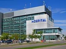 χτίζοντας συρμένο διανυσματικό λευκό απεικόνισης νοσοκομείων χεριών στοκ εικόνα με δικαίωμα ελεύθερης χρήσης