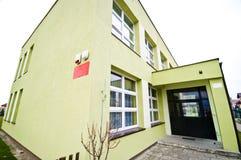 χτίζοντας σχολείο Στοκ εικόνα με δικαίωμα ελεύθερης χρήσης