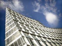 χτίζοντας σύγχρονα γραφεία Στοκ Εικόνες