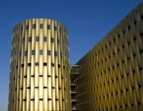 χτίζοντας σύγχρονος χώρο&si Στοκ Εικόνα