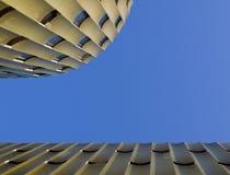 χτίζοντας σύγχρονος χώρο&si Στοκ εικόνα με δικαίωμα ελεύθερης χρήσης