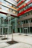 χτίζοντας σύγχρονο γραφείο Στοκ εικόνες με δικαίωμα ελεύθερης χρήσης