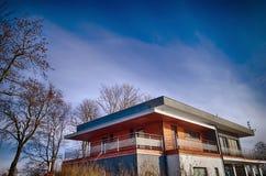 χτίζοντας σύγχρονο γραφ&epsilo Στοκ Φωτογραφία