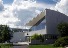 χτίζοντας σύγχρονο σχολ&e Στοκ Εικόνα