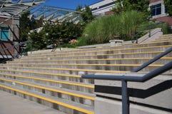 χτίζοντας τα κύρια βήματα π&rho Στοκ Εικόνες