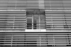 χτίζοντας την πρόσοψη σύγχρ&o Στοκ εικόνες με δικαίωμα ελεύθερης χρήσης