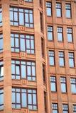 χτίζοντας την πρόσοψη σύγχρ&o Στοκ Φωτογραφία