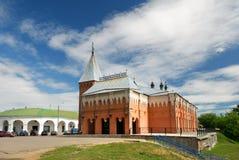 χτίζοντας τη μαριονέτα kostroma ε Στοκ εικόνες με δικαίωμα ελεύθερης χρήσης