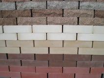 Χτίζοντας τούβλα Στοκ εικόνα με δικαίωμα ελεύθερης χρήσης