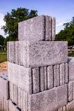 Χτίζοντας τούβλα Στοκ Εικόνα