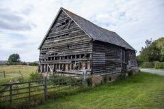 χτίζοντας το αγρόκτημα παλαιό Στοκ Φωτογραφίες