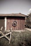 χτίζοντας το αγρόκτημα πα&lam Στοκ Εικόνες