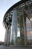 χτίζοντας το γυαλί αστι&kappa Στοκ φωτογραφία με δικαίωμα ελεύθερης χρήσης