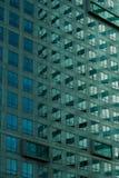 χτίζοντας το γυαλί σύγχρ&omicr Στοκ Εικόνες