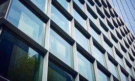 χτίζοντας το γυαλί σύγχρονο Στοκ Εικόνες