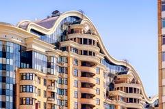 χτίζοντας το Κίεβο σύγχρ&omicr Στοκ φωτογραφία με δικαίωμα ελεύθερης χρήσης