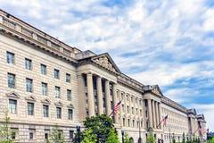 Χτίζοντας υπουργείο Εμπορίου Washington DC Χέρμπερτ Χούβερ Στοκ Φωτογραφία