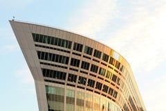 χτίζοντας υψηλή τεχνολογία ύφους Στοκ Φωτογραφίες