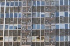 χτίζοντας υλικά σκαλωσιάς Στοκ εικόνες με δικαίωμα ελεύθερης χρήσης
