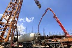 χτίζοντας φλέβα εργοτάξιων οικοδομής Στοκ Φωτογραφίες