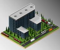 χτίζοντας φλέβα εργοτάξιων οικοδομής Στοκ Εικόνα