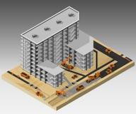 χτίζοντας φλέβα εργοτάξιων οικοδομής Στοκ φωτογραφία με δικαίωμα ελεύθερης χρήσης