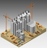 χτίζοντας φλέβα εργοτάξιων οικοδομής Στοκ εικόνες με δικαίωμα ελεύθερης χρήσης