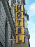 χτίζοντας ύφος σημαδιών ξενοδοχείων εργοστασίων ιστορικό Στοκ φωτογραφίες με δικαίωμα ελεύθερης χρήσης